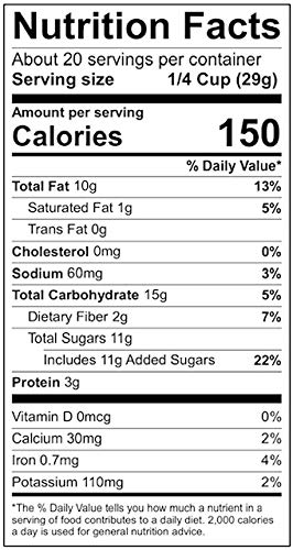 Roasted Almonds, Pecans, and Cashews nutrition facts