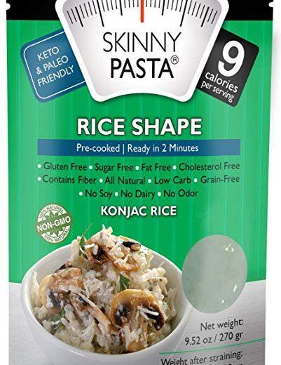 Skinny Pasta Rice Shape