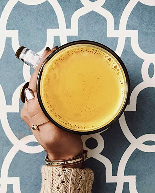 TURMERIC GOLDEN LATTE VEGAN pic