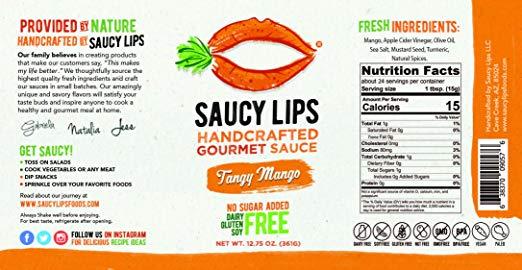 Tangy Mango nutri