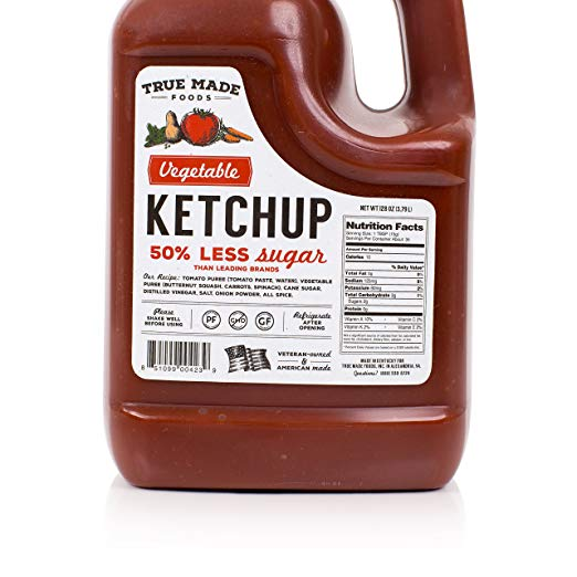 Vegetable Ketchup nutrients