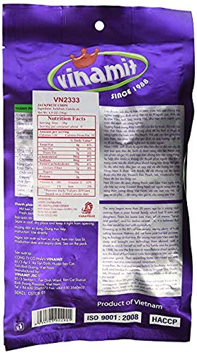 Vinamit Vinatural Jackfruit Chips label