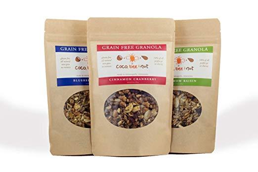 grain free granola packings
