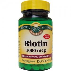 Spring Valley - Biotin 1000 mcg