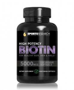 Biotin (High Potency) 5000mcg Per Veggie Softgel