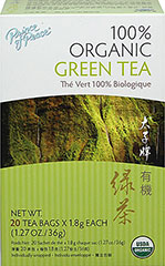 Prince Of Peace Free Shipping on any order Organic Green Tea