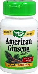American Ginseng Root 550 mg