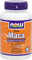 NOW Foods Raw Maca 750 mg
