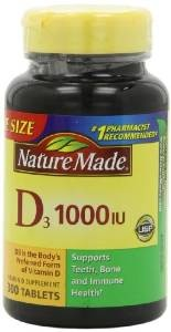 Nature Made Vitamin D3 1000