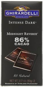 Ghirardelli Chocolate Intense Dark Bar, Midnight Reverie