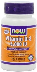 NOW Foods Vitamin D3 5000