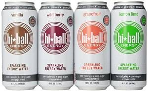 Hiball Energy Sparkling Water Variety Pack