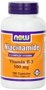 Now Foods Niacinamide 500mg