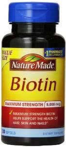 Nature Made Maximum Strength Biotin