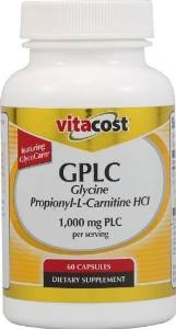 Vitacost GPLC Glycine Propionyl L-Carnitine HCl-GlycoCarn 1000 mg PLC per serving