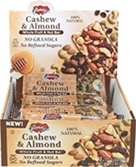 Glenny's Cashew & Almond Whole Fruit & Nut Bar